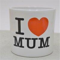 I love Mom - Übertopf