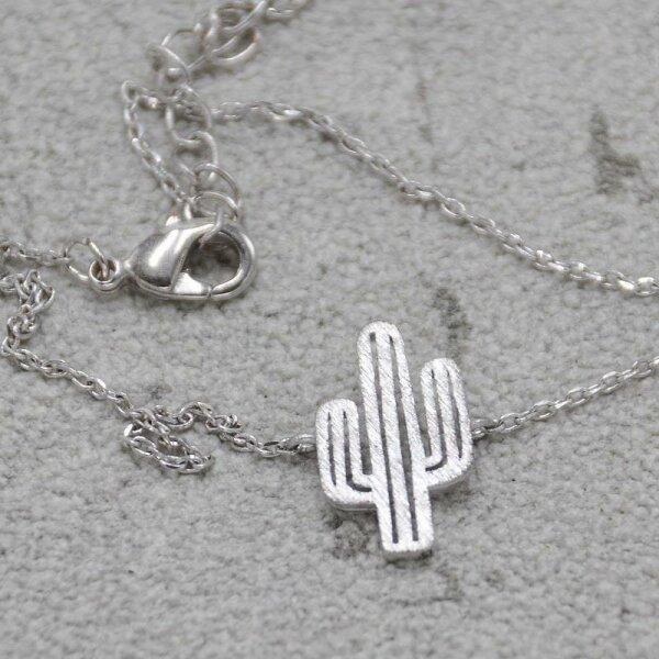 Kaktus Armband, Silber
